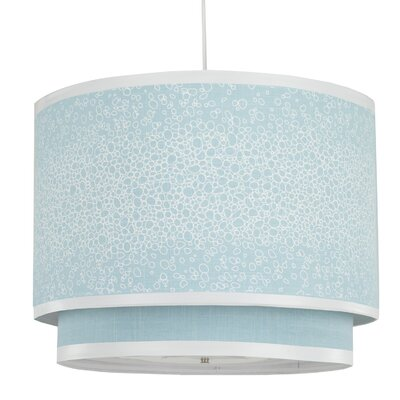 Oilo Raindrops Double Cylinder Light in Aqua