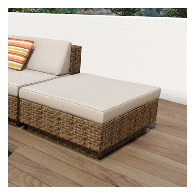 dCOR design Park Terrace Ottoman with Cushion