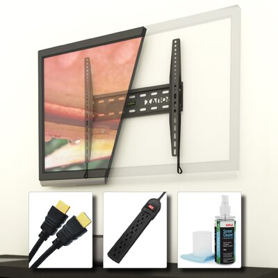 dCOR design Fixed Low Profile Wall Mount Kit for 26