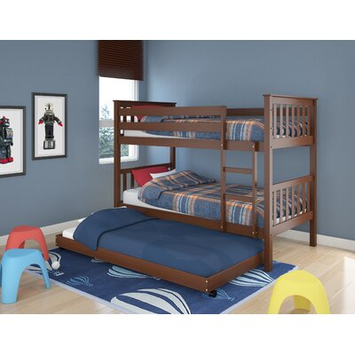 dCOR design Monterey Twin Bunk Bed with Trundle