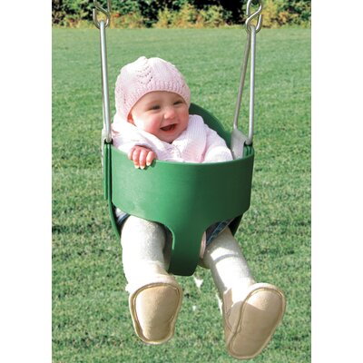 Playtime Swing Sets Bucket Toddler Swing with Chain