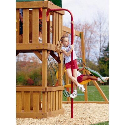 Playtime Swing Sets Fireman's Pole