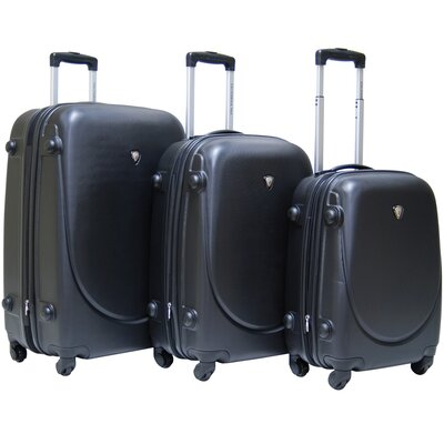 CalPak Valley 3-piece ABS Expandable Hardside Luggage Set