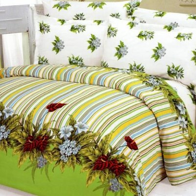 Le Vele Doga 6 Piece Duvet Cover Bedding Set