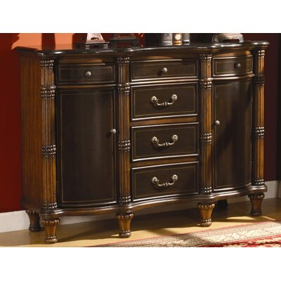 Crestview Collection Antiqued Two Tone Chest