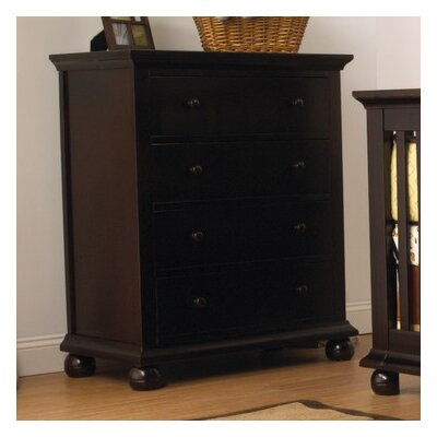 Sorelle Cape Cod 4 Drawer Chest