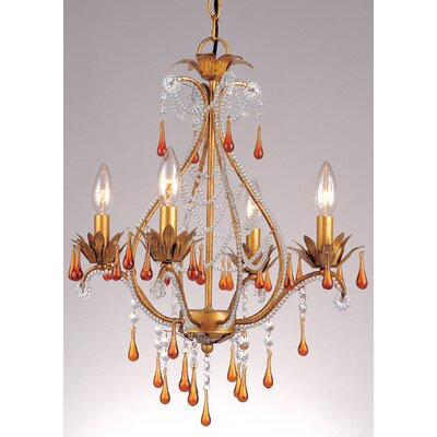 Josephine 4 Light Mini Chandelier