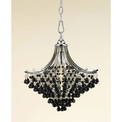 AF Lighting Spellbound 1 Light Mini Chandelier