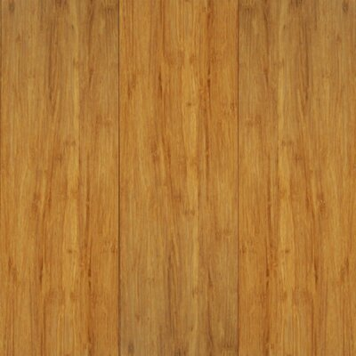 "US Floors Natural Bamboo Exotiques 5-5/8"" Engineered Strand Woven Bamboo in Natural"