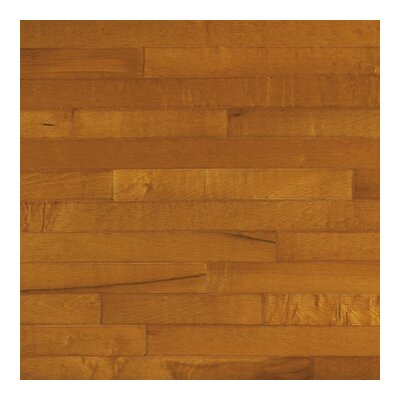 "Columbia Flooring Jefferson 3-1/4"" Solid Hardwood Maple Flooring in Rust"