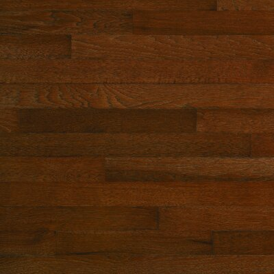 "Columbia Flooring Monroe 2-1/4"" Solid Hardwood Hickory in Mocha"