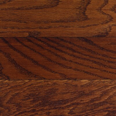Columbia Flooring Beacon 5&quot; Engineered Hardwood Red Oak in Henna