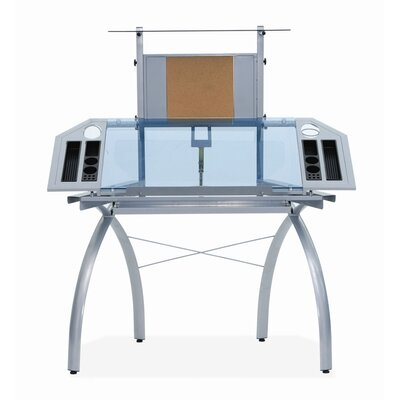 Studio Designs Futura Glass Tower Drafting Table