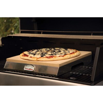 Charcoal Companion PizzaQue® by Pizza Craft Pizza Stone Grill