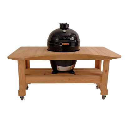 Primo Grills Cypress Table for Kamado Grill