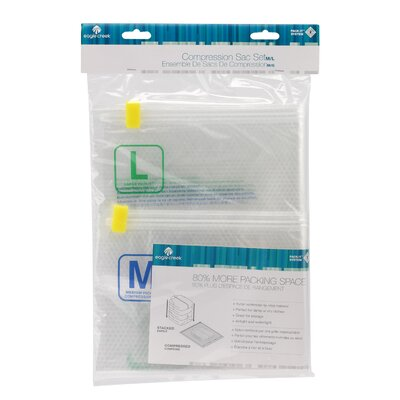 Eagle Creek Pack-It Clear 2 Piece Compressor Sack Set (M/L)