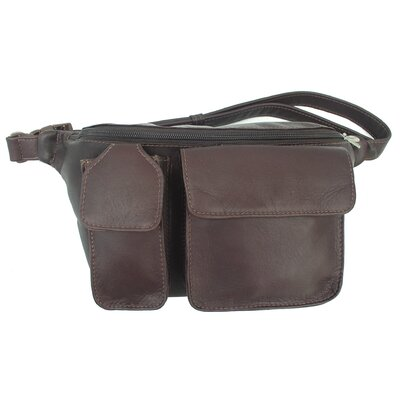 Piel Leather Adventurer Waist Bag with Phone Pocket