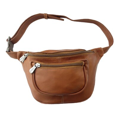 Piel Leather Adventurer Traveler's Waist Bag