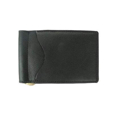 Piel Leather Bi-Fold Money Clip