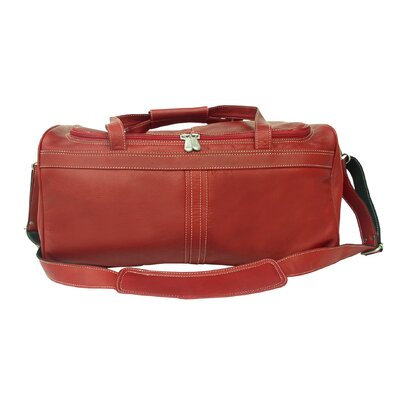 "Piel Leather Leather 17.5"" Travel Duffel"