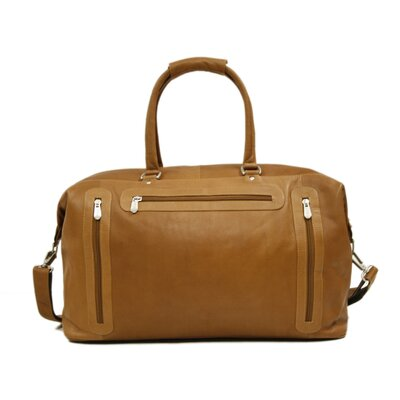 "Piel Leather Traveler 19.5"" Leather Urban Weekender Duffel"