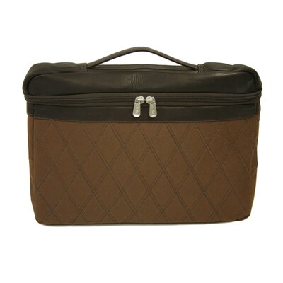 "Piel Leather Entrepreneur 17"" Top Handle Laptop Sleeve in Chocolate"