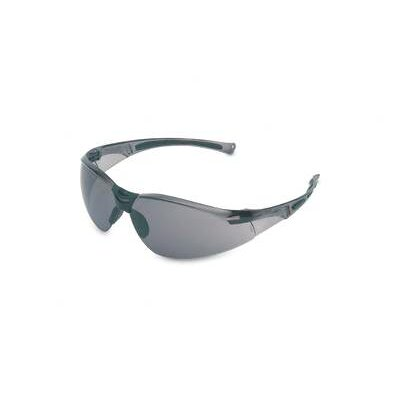 A800 Series Safety Glasses With Clear Frame And TSR® Gray Hardcoat Lens (10 Per Box) ...
