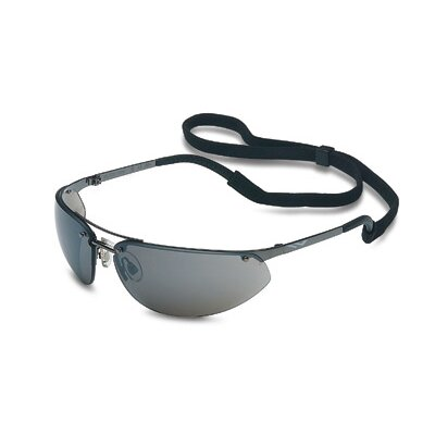 Fuse™ Safety Glasses With Gunmetal Frame And Silver Mirror Hard Coat Lens