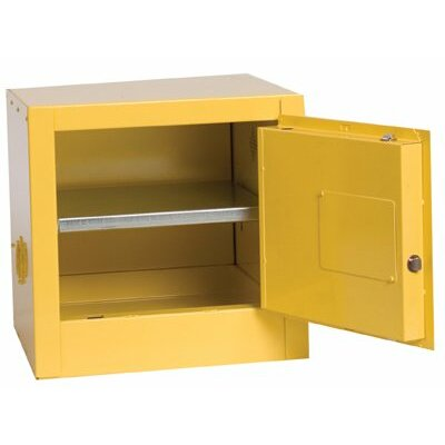 Eagle Manufacturing Company Eagle Mfg - Flammable Liquid Storage 2 Gal. Bench Top Flammable Liquid Safety Cabinet: 258-1900 - 2 gal. bench top flammable liquid safety cabinet