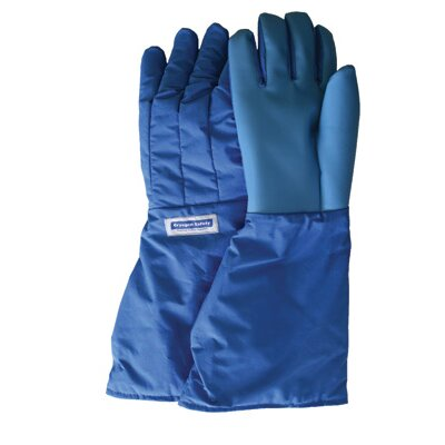 "National Safety Apparel Inc SaferGrip™ 15"" Mid-Arm Length Waterproof Cryogenic Gloves"