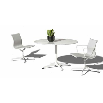 "Herman Miller ® Eames 3 Piece Bistro Set with 42"" Table"
