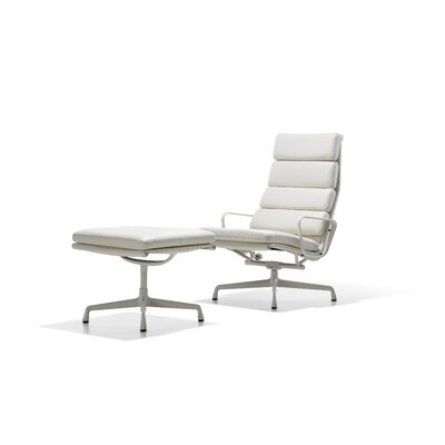 Herman Miller ® Eames Soft Pad Group Chair and Ottoman