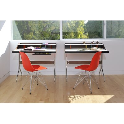 Herman Miller ® Eames DSR - Molded Plastic Side Chair with Wire Base