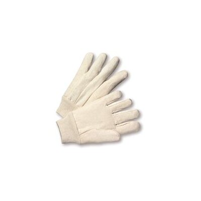 Radnor 12 Ounce Premium Cotton Canvas Work Glove With Knitwrist And Straight Thumb