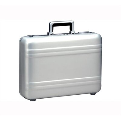 "Zero Halliburton Premier 5"" Attache in Silver"