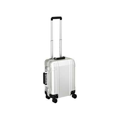 Zero Halliburton Geo Aluminum  Carry On 4 Wheel Spinner Travel Case