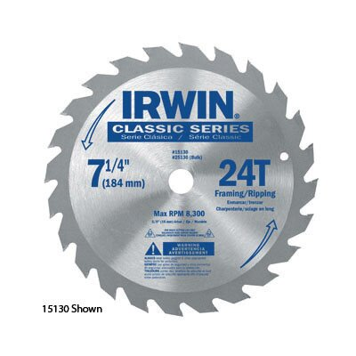 "Vise-Grip SPRINT® 25230 7 1/4"" X 40 Tooth X Universal Circular Saw Blades For Wood (Bulk Packaging)"
