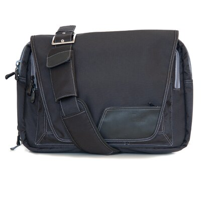 Diaper Dude Digi Dude Laptop Bag in Eco Black