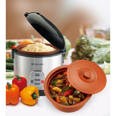 Vitaclay 2-in-1 N' Slow Rice Cooker
