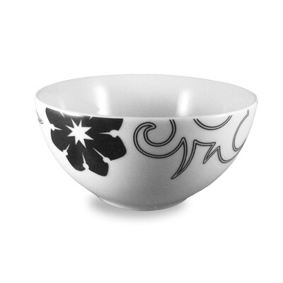 Ink Dish Tribal Lines Cereal Bowl