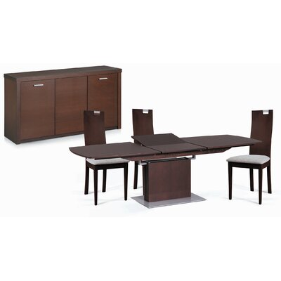 New Spec Inc Cafe-38 5 Piece Dining Set