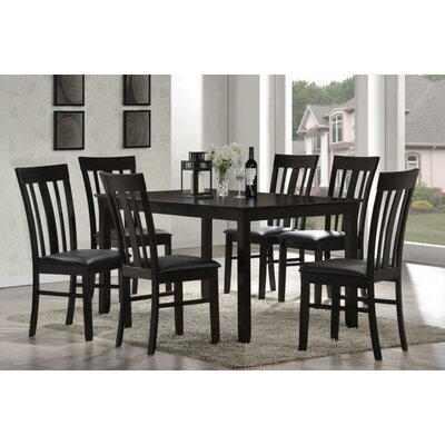 New Spec Inc Cafe 7 Piece Dining Set