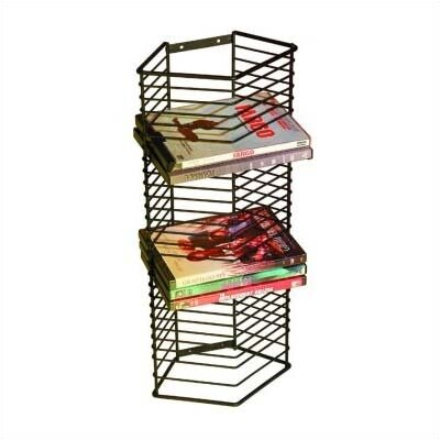 Atlantic 28 DVD Onyx Multimedia Wire Rack