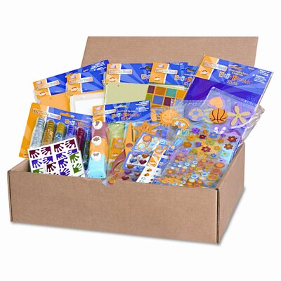 Creativity Street® Scrapbookin' Kids Class Pack, Assorted Materials