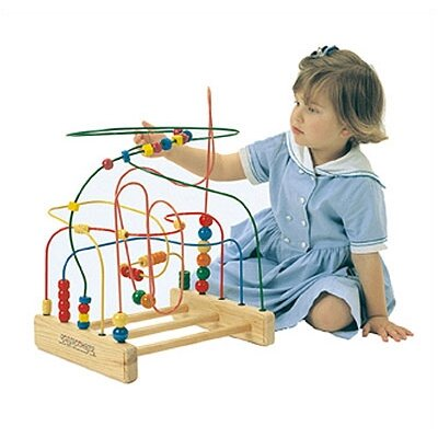 Anatex The Original Rollercoaster Bead Maze Activity Table