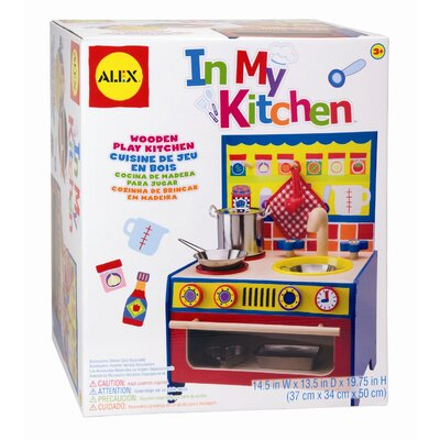 ALEX Toys In My Kitchen Play Kitchen Set