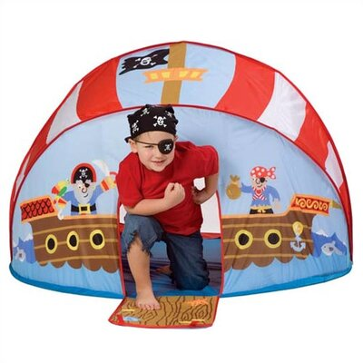 ALEX Toys Let's Pretend Pirate Pop-Up Tent Play Set