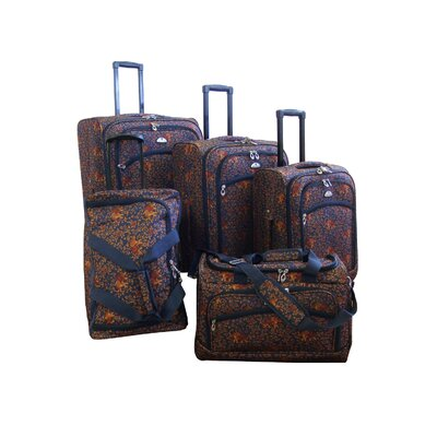 American Flyer Budapest 5 Piece Spinner Luggage Set