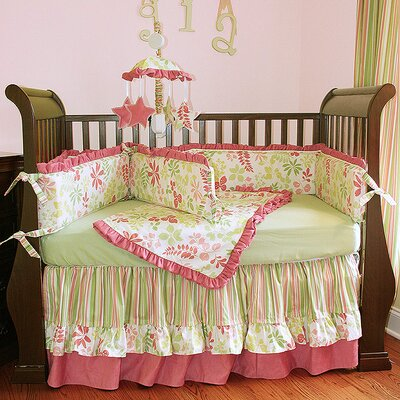 Leaves Crib Blanket