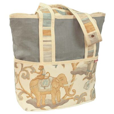 Cirque Blue Tote Diaper Bag